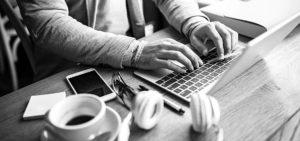 Header-Man-Typing