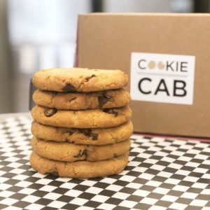 chocolate chip cookies from cookie cab san antonio