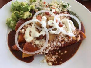 enchiladas from roasarios mexican cafe