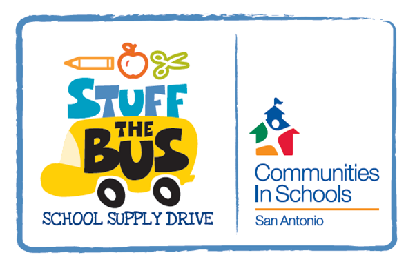 stuff the bus school supply drive in san antonio