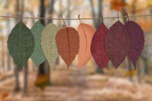 leaf decorations